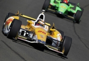 Ryan Hunter-Reay voor James Hinchcliffe in Fontana
