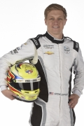 Spencer Pigot met helm