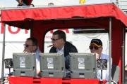 Carl Haas (midden) en Paul Newman (rechts)