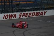 Tony Kanaan op de Iowa Speedway