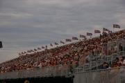 Toeschouwers tijdens race in Edmonton