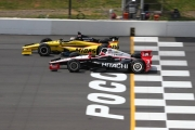 Helio Castroneves, Graham Rahal, Pocono