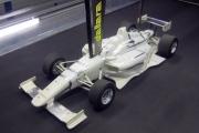 Het windtunnel model voor de nieuwe Indy Lights wagen
