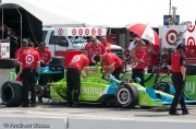 Dario Franchitti, Milwaukee Mile