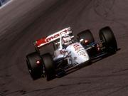Nigel Mansell voor Newman/Haas in 1993