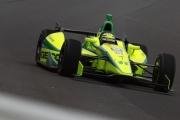 Tony Kanaan test de DW12 op Indianapolis