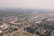 De Indianapolis Motor Speedway vanuit de lucht