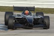 Oriol Servia tijdens de open test op Sebring