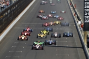 De start van de 2012 Indianapolis 500