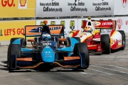 Luca Filippi voor Helio Castroneves in Houston