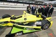 Sage Karam toont zijn Indy 500 kleurstelling