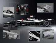 De op 29 maart vrijgegeven ontwerpen van de 2018 IndyCar