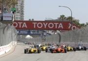 De start van de 2004 Toyota Atlantic race in Long Beach