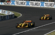 Timo Glock voor Michael McDowell in Mexico City