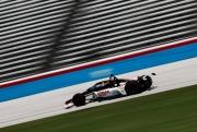 Rinus Veekay op de Texas Motor Speedway
