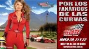 Tecate promotie voor Champcar race op Monterrey