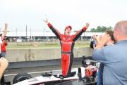 James Davison wint zijn eerste Indy Lights race
