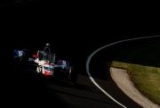 James Davison tijdens de Indy 500 van 2020