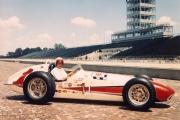 AJ Foyt wint in 1961 de Indy 500