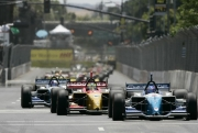 De start van de San Jose Grand Prix