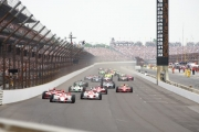 De start van de 2009 Indianapolis 500