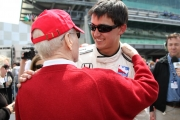 Paul  Newman, Graham Rahal, Indianapolis
