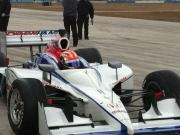 James Hinchcliffe test voor Newman/Haas Racing