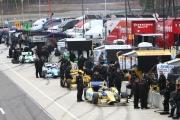 Andretti Autosport is klaar voor actie tijdens de test op het Barber Motorsports Park