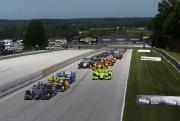 Will Power leidt de start van de Kohler Grand Prix op Road America