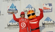 Dario Franchitti pakt pole op Homestead