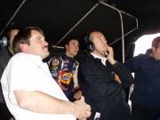 Eric Bachelart en Andrew Ranger volgen de resultaten van Charles Zwolsman