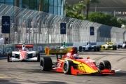 Raphael Matos leidt het Indy Lights veld in St. Petersburg