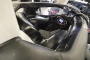De cockpit van Will Power met het aeroscreen, Indianapolis