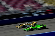 James Hinchcliffe, Ryan Hunter-Reay, Fontana