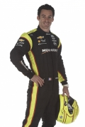 Simon Pagenaud met helm