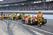 Townsend Bell, Ryan Hunter-Reay, Indianapolis