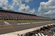 Marco Andretti leidt de start op Pocono