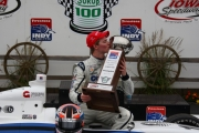 Josef Newgarden wint in Iowa