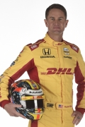 Ryan Hunter-Reay met helm