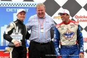 Mike Conway, Justin Wilson, Detroit