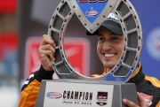 Graham Rahal wint in Fontana
