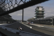 Will Power test het aeroscreen op Indianapolis