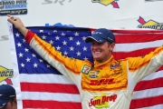 Ryan Hunter-Reay wint in Baltimore