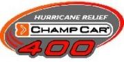 Het logo van de Champcar Hurricane Relief 400