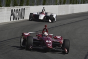 Ed Carpenter voor Graham Rahal, Pocono