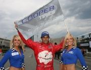 Raphael Matos viert zijn pole position
