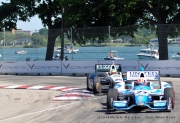 Mike Conway, James Hinchcliffe, Detroit
