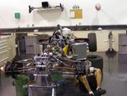 Aan de reservewagen vann Minardi wordt nog hard gewerkt