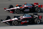 Helio Castroneves, Will Power, Chicagoland
