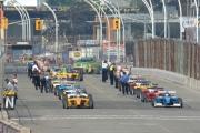 Start van de Atlantics race in Toronto